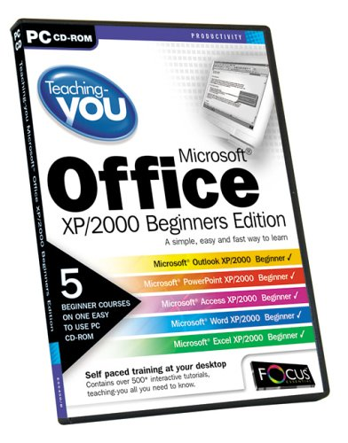 Teaching-you MS Office XP & 2000 Beginners Edition [import anglais]