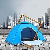 BBGSFDC Al Aire Libre Impermeable Senderismo Camping Tienda Anti-Ultravioleta Portátil 2 Personas Tienda Plegable Ultraligera Pop Up y Abra automáticamente la sombrilla