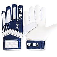トッテナム・ホットスパー フットボールクラブ Tottenham Hotspur FC オフィシャル商品 キッズ・ジュニア・ユースサイズ ゴールキーパーグローブ (ワンサイズ) (ホワイト/ネイビー)