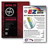 NFPA 70 NEC Handbook (Hardcover) and Color Coded EZ Tabs Set, 2017