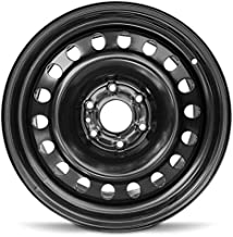 Road Ready Car Wheel For 2007-2015 Nissan Armada 2007-2019 Nissan Titan 18 Inch 6 Lug Black Steel Rim Fits R18 Tire - Exact OEM Replacement - Full-Size Spare
