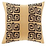 Lumimi Traditional Yellow Polyester Decorative Pillow Cover (2020)