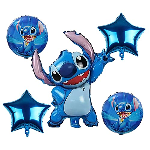 MC TTL Lilo and Stitch Party Lilo and Stitch Balloons for Birthday Party Baby Shower Decorations