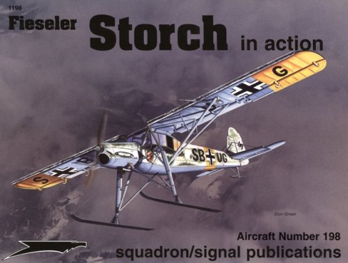 Fieseler Fi 156 Storch in action - Aircraft No. 198
