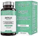 Detox | Plan Detox Vegano | Con Alcachofa, Rábano Negro, Vitaminas y +8 Plantas y Semillas | Con vitamina B6 que contribuye al metabolismo energético normal | 90 Cápsulas Veganas Nutralie