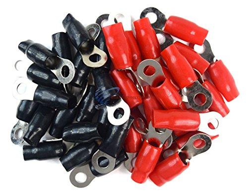Scosche P0Rti-50 1/0-Gauge Ring Terminals