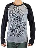 Ready Player One T-Shirt Watts Wade Camelot Shirt Map (L) Gray