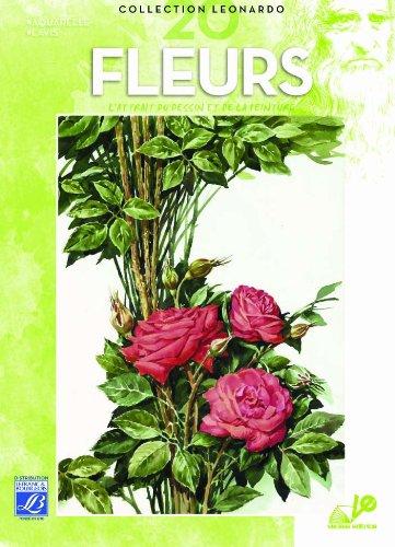 Lefranc Bourgeois Album Léonardo n°20 Fleurs Peinture aquarelle