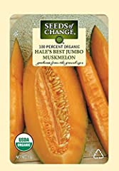 100% Certified Organic Seeds Early, heirloom muskmelons that are firm and sweet Healthy, Nutritious, All Natural Vegetables and Herbs Seeds of Change has been a trusted brand for over 25 years The Oldest Pure Organic Seed Company in the U.S.