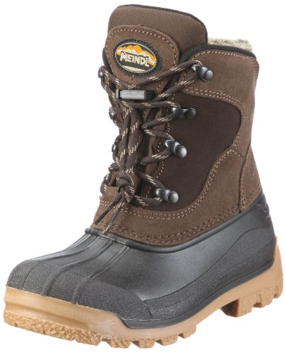 Meindl Sölden Junior 570036, Unisex - Kinder Stiefel, Braun (dunkelbraun 2), EU 36
