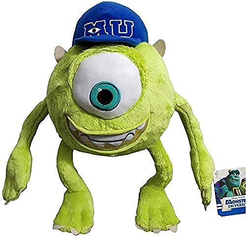 APcjerp Monsters Inc Mike Wazowski en Peluche Université Monstres Douce Peluche Poupée for Les Enfants Cadeau 32cm