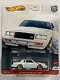 DieCast Hotwheels 2020 Car Culture [Power Trip] White '87 BuickRegal GNX 2/5