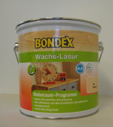 Bondex Wachs-Lasur 2,5L (900 Farblos)
