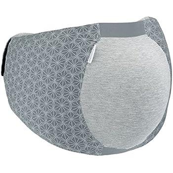 Babymoov Dream Belt - Ceinture ergonomique pour le confort de sommeil de la femme enceinte, élastique, s'adapte à toutes les phases de la grossesse, XS/S, Gris