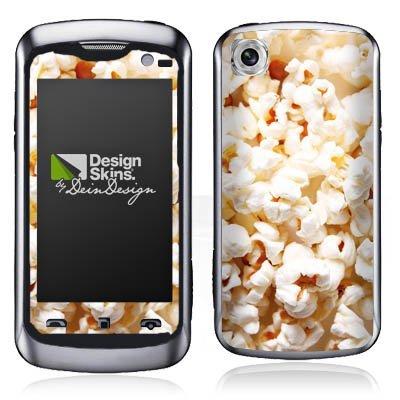 LG KM570 Arena II Aufkleber Schutz Folie Design Sticker Skin Popcorn Kino Poppin Corn