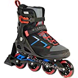 Rollerblade Zetrablade Men's Marcob 80Abt SC Skates, Men, 07852800, schwarz/Blau/Rot, 31