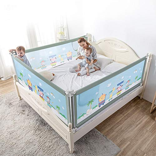 Read About Child Bed Fence Bed Rails Bed Rails Baby Crib Baffle Baby Drop Guard Rail Vertical Liftin...