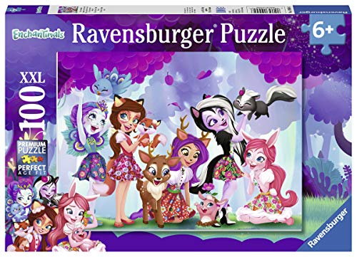 Ravensburger 109456 Puzzel Enchantimals Friends Forever - Legpuzzel - 100 Stukjes
