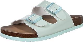Skechers Women's Granola-Gloss Floss Leather Slipper