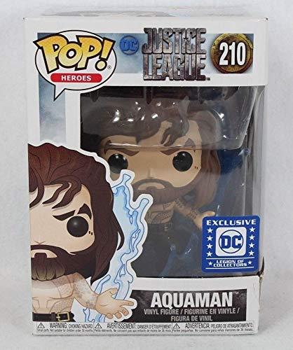 Funko Pop! Heroes Aquaman (Justice League) Legion of Collectors Exclusive # 210