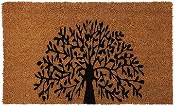 Tree of Life PVC Backed Coir Doormat | | Fab Habitat (45x120 cm)