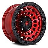Fuel D632 Zephyr 17x9 6x135 +1mm Red/Black...