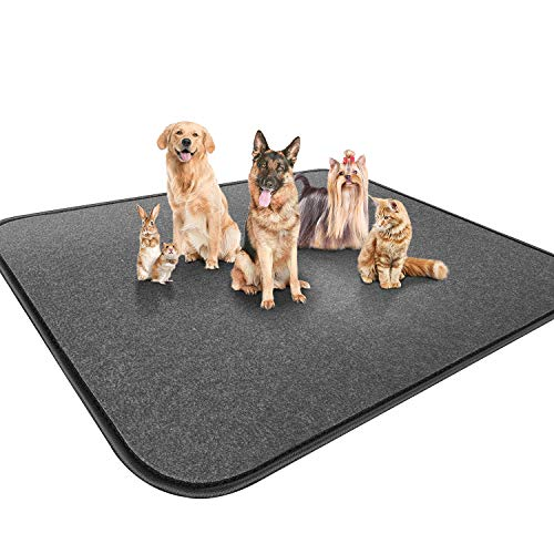 Gimars Upgrade Heavy Absorbency Non-Slip Washable Dog Pee Pads, Reusable 72