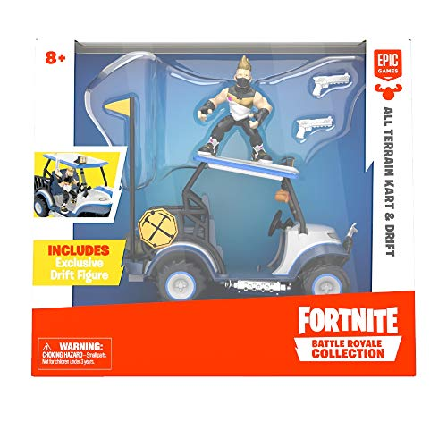 Fortnite - Deluxe Figur + Fahrzeug (Giochi Preziosi FRT38000)
