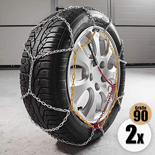 Diamond Car Schneeketten Alpin Gr. 90 2er Set
