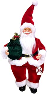 Fan-Ling A Christmas Toy for Santa Claus, a with a, Cute Decor Ornaments,Cute Doll Christmas Doll Creative Christmas Tree Decoration,47 x 20 x11 cm (A)
