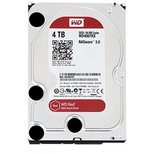 WD Red WD40EFAX Disco duro 3.5' para dispositivos NAS 5400 RPM...