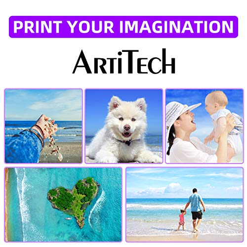 ArtiTech Replacement for Canon PGI-72 PBK PGI-72 Photo Black Compatible Ink Cartridges Work for Canon PIXMA Pro-10 PIXMA Pro-10S Printers,2 Pack PGI-72 PBK Photo #3