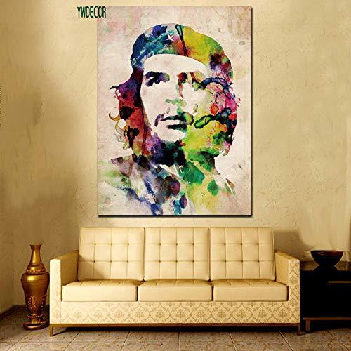 xingbu Sin marcoHd Print Acuarela Elvis Presley Che Guevara Freedom Wall Art Canvas ng Pop Art On Canvas Living Room Poster Sofa Cuadros 30x40cm