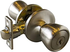 Design House 728394 Terras 6-weg slot ingang deurknop, satijn nikkel