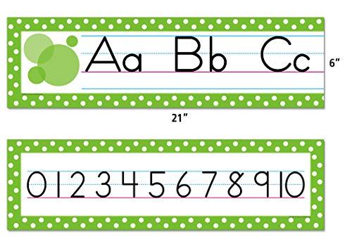 Teacher Created Resources Traditional Printing Mini Bulletin Board, Green (4088) Photo #2