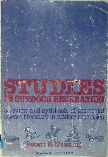 Studies in Outdoor Recreation