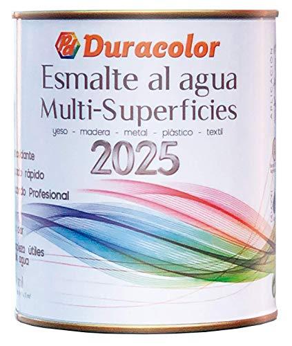Esmalte al Agua Multisuperficies 2025 Blanco Satinado 750 ml.