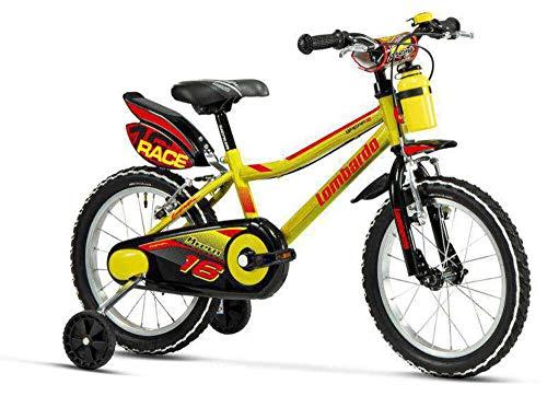 Mountain Bike Cicli Lombardo Bici Mtb 16 BRERA Yellow/Black DY1602