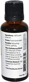Now Foods Essential Oils Lemon 30 ml