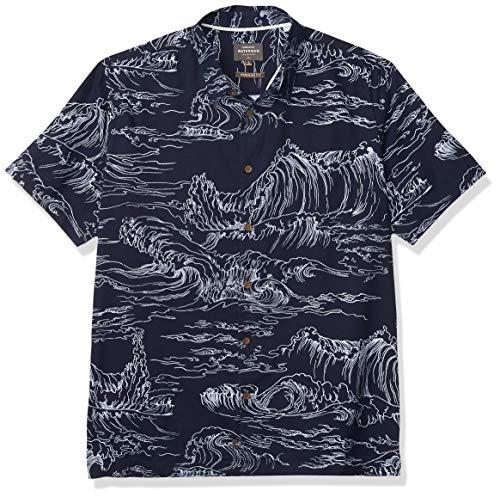 Quiksilver Herren Les Surge Woven Hemd, blau, X-Groß