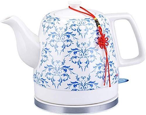 Bouilloires en céramique bouilloire électrique sans fil eau Teapot, Teapot-rétro 1.2L Jug rapide (Couleur: A) 8bayfa (Color : B)