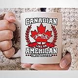 Tazza da caffè canadese con scritta 'Canadian Like an American Only Better', divertente canadese Souvenir per uomo e donna Toronto Canada