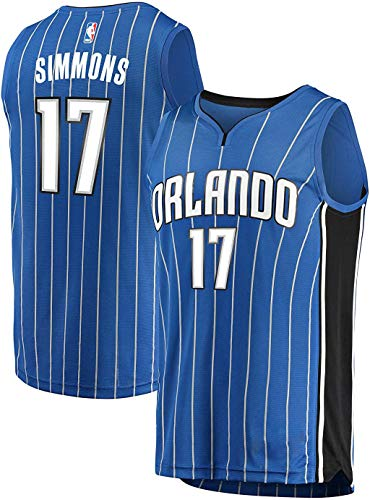 OuterStuff Jonathon Simmons Orlando Magic #17 Youth Blue Road Swingman Jersey (X-Large 18/20)