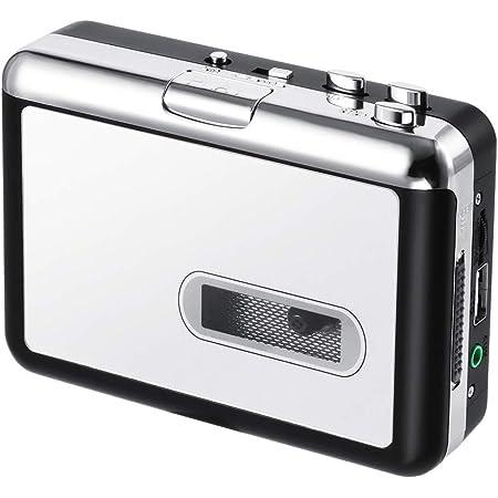 PowerLeadテーププレーヤー MP3へのテープレ トロウォークマン ポータブルオーディオテーププレーヤーとヘッドフォンカセットマシン