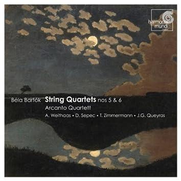 Bartók: String Quartets No.5 & 6