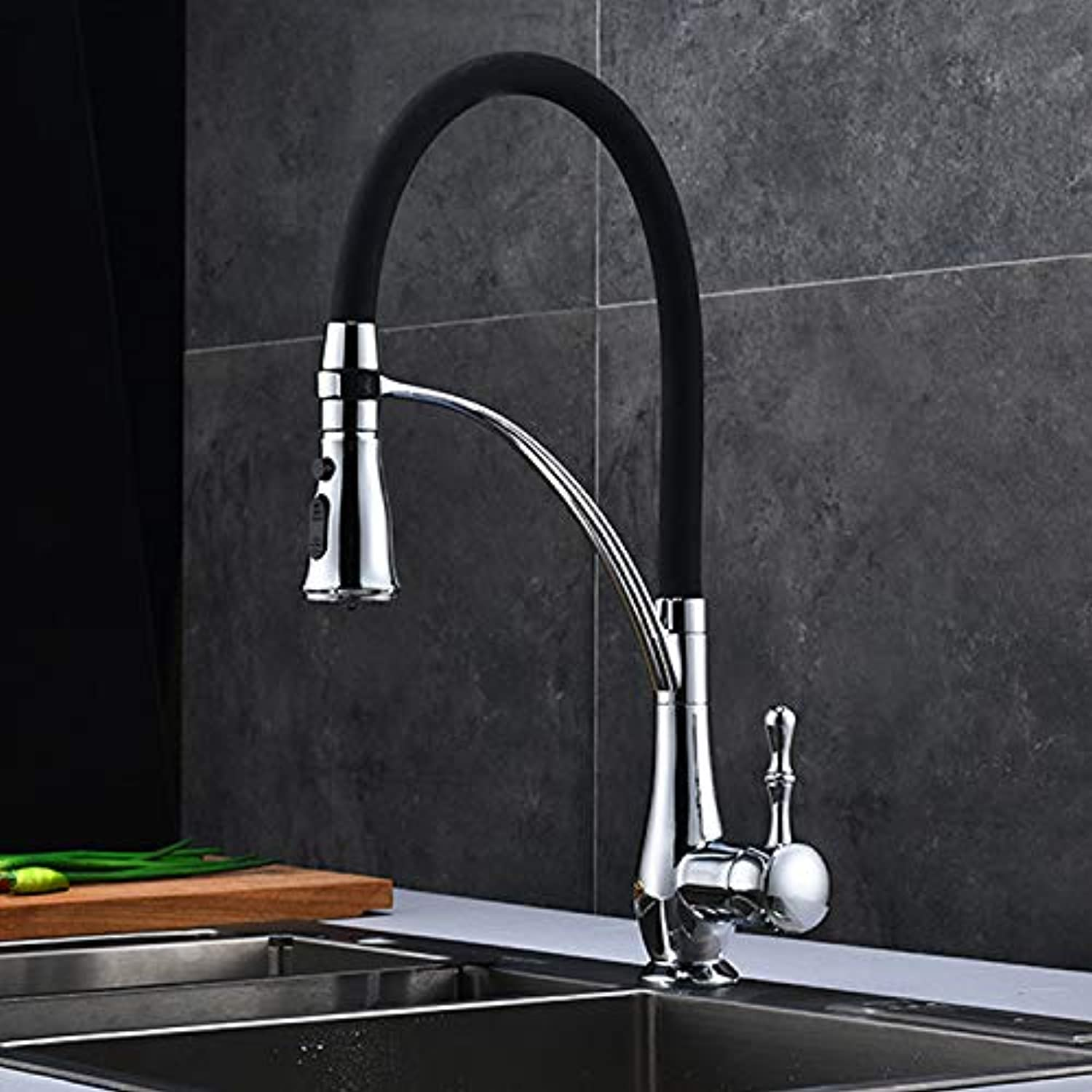 redOOY Taps Faucet Kitchen Sink Dish Kitchen Faucet Pull Kitchen Faucet 360 redating Hot And Cold Water Mixing Faucet