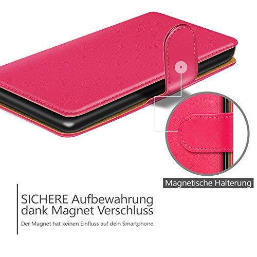 Conie Handyhülle für iPhone 7 – Bookstyle aus PU Leder - 6