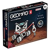 Luglio 2019 – il Mondo celebra il 50° anniversario dello sbarco sulla Luna; geomagworld, azienda leader del giocattolo magnetico, ha elaborato una speciale linea per celebrare le grandiose conquiste nelle esplorazioni spaziali Il set Rover NASA conti...