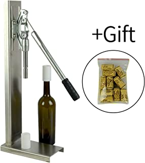 Counter Pressure Bottle Filler ,Wine bottle cork filling tool,packing machine, playing the cork variety tamponade machine Bench capper