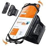 """Oopscool Bracciale Da Jogging Per Cellulare Sport Universale Braccio Per Iphone 12 Pro Max Mini 11 Pro Max Xs Xr X 8 Samsung Galaxy Huawei Supporto Per Cellulare Corsa (4"""" - 6.5"""")"""